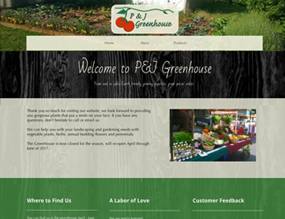 "P&Js Greenhouse - Locally Grown"" vspace="